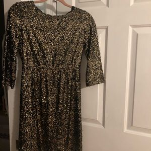 5/48 Saks Sequined Dress